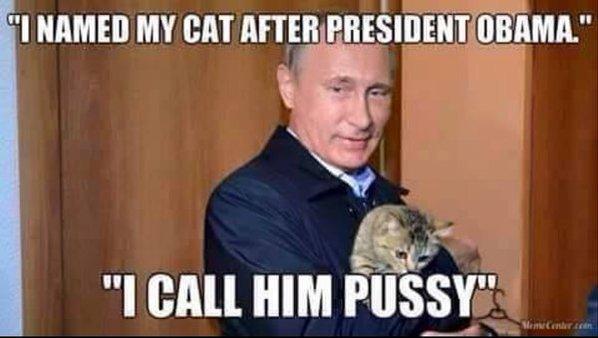 PutinObamaPussyCat