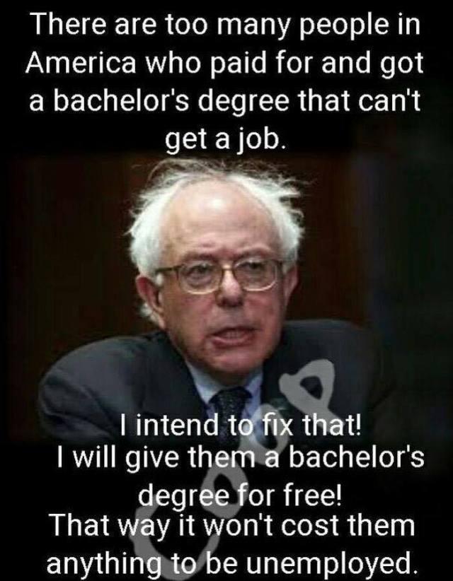 Bernie Sanders free college
