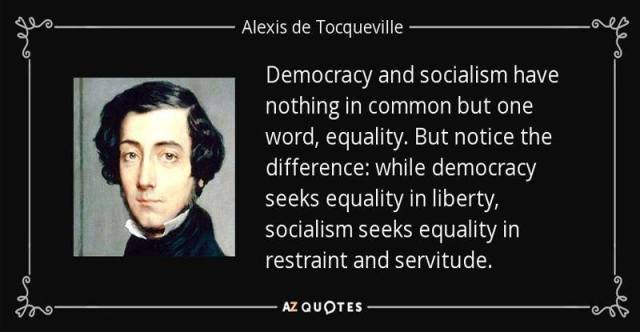 Democracy Socialism And Equality