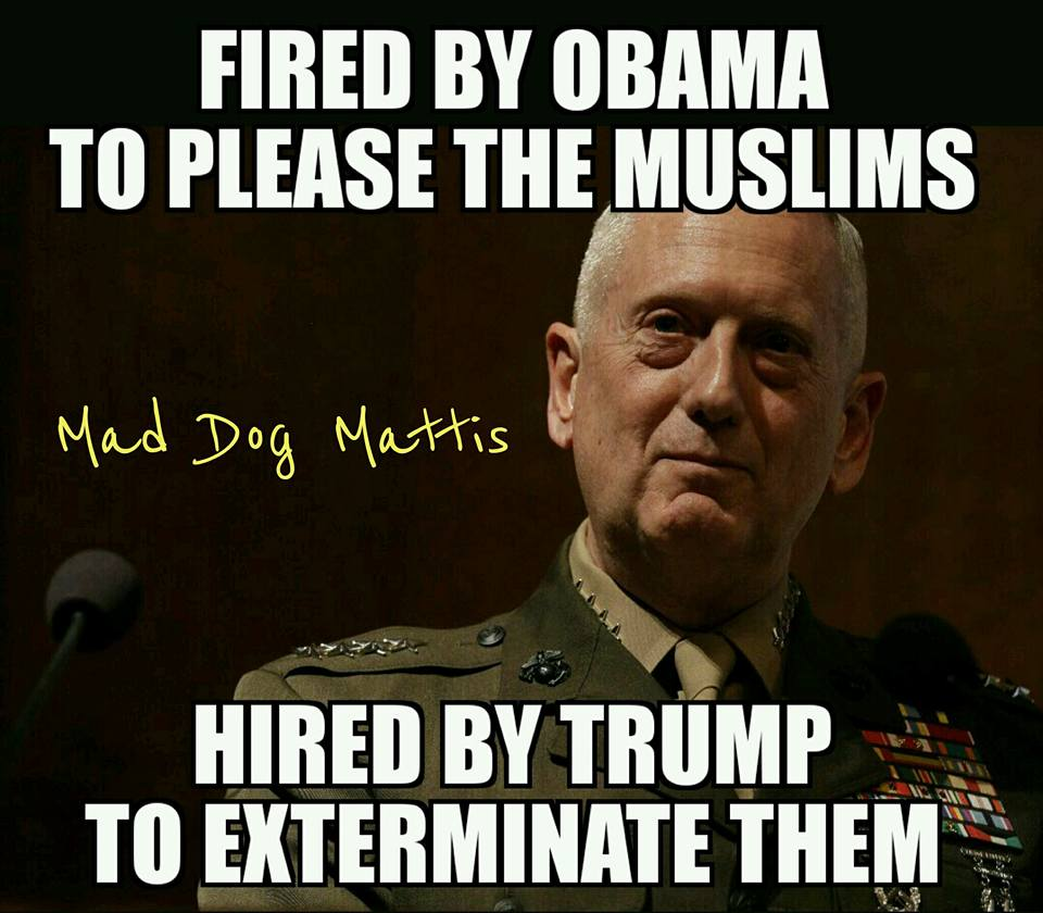 Mad Dog Mattis Name